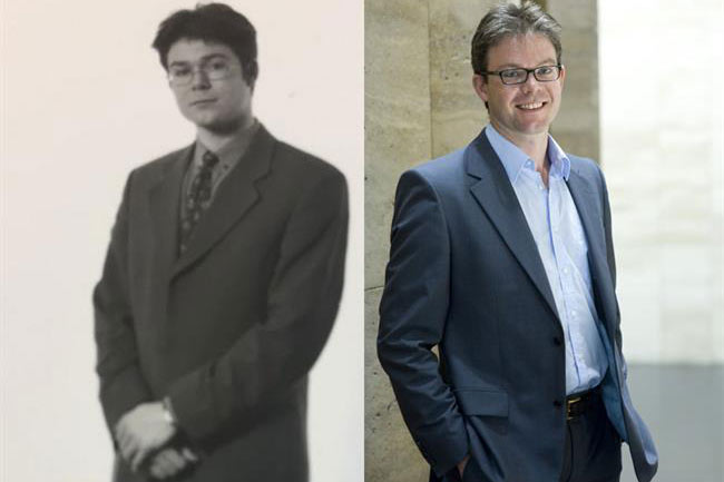 Guy Parker, then and now