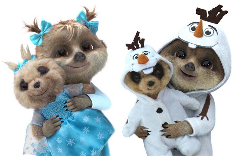 Anaya and Oleg in costume