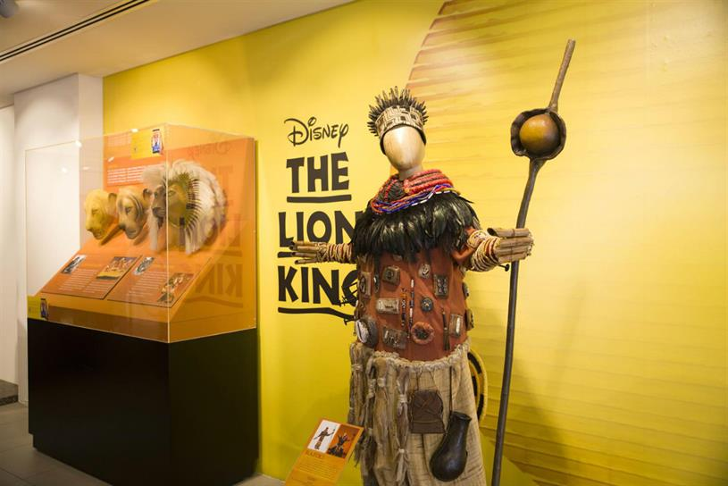 The Lion King: one of Disney's most popular musicals