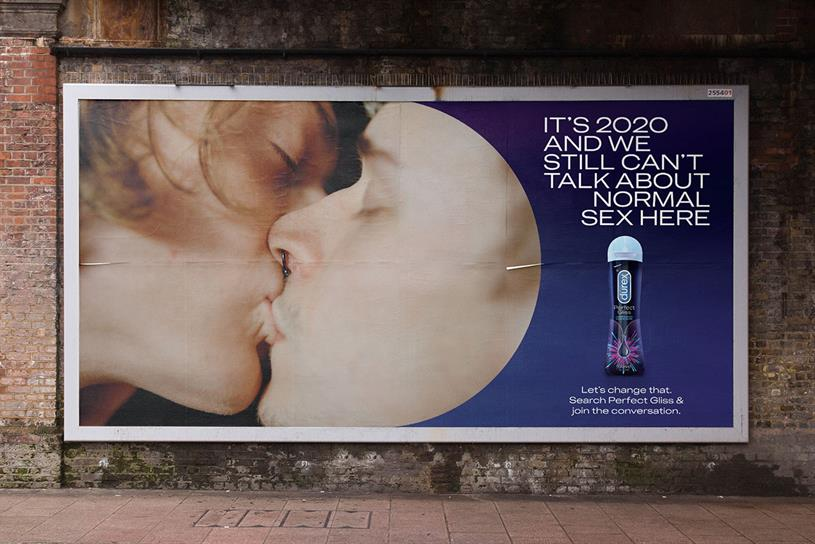Durex: ad avoids explicit mention of anal sex