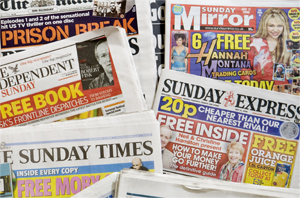 Newspaper giveaways from the weekend (13-to-14 June)