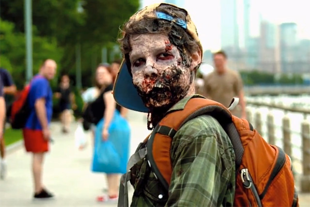 The Walking Dead: Zombies rule with 180,000 shares