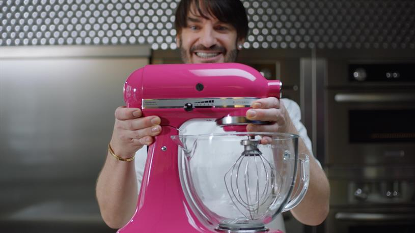 Patissier and chef, Eric Lanlard features in the ad that debuts tomorrow