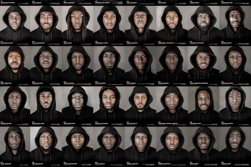 '56 black men': aims to reduce negative stereotypes of black men
