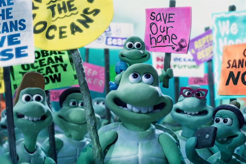 Greenpeace: tells story of turtle family