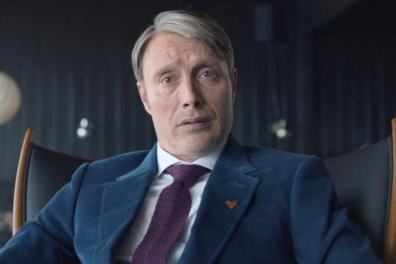 Carlsberg: Mikkelsen returns in new instalment