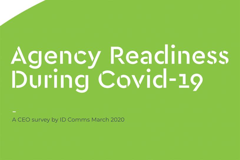 Agency readiness: survey assessed how agencies are responding to Covid-19