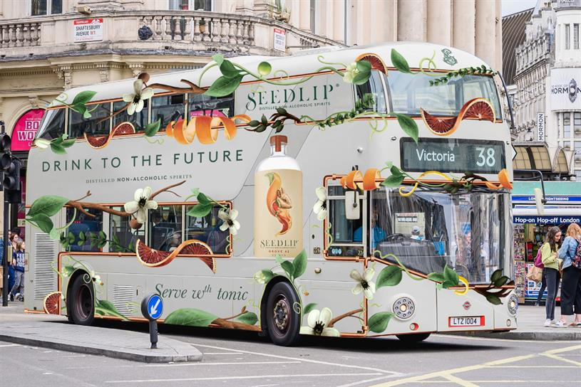 Seedlip: activity includes on buses