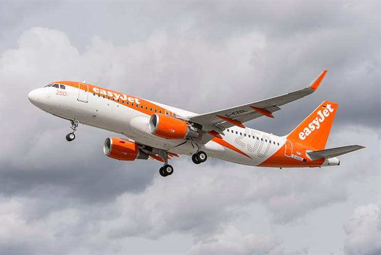EasyJet: plans to offset all carbon emissions