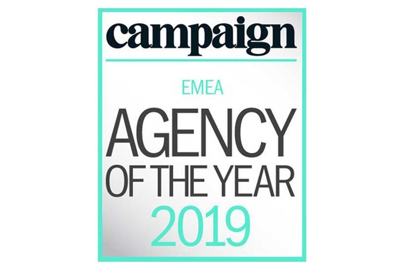 EMEA Agency of the Year: winners announced alongside UK awards