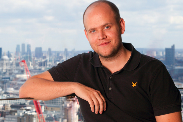 Daniel Ek: founder of Spotify
