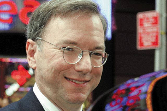 Eric Schmidt: Google's executive chairman will deliver this year's MacTaggart Lecture