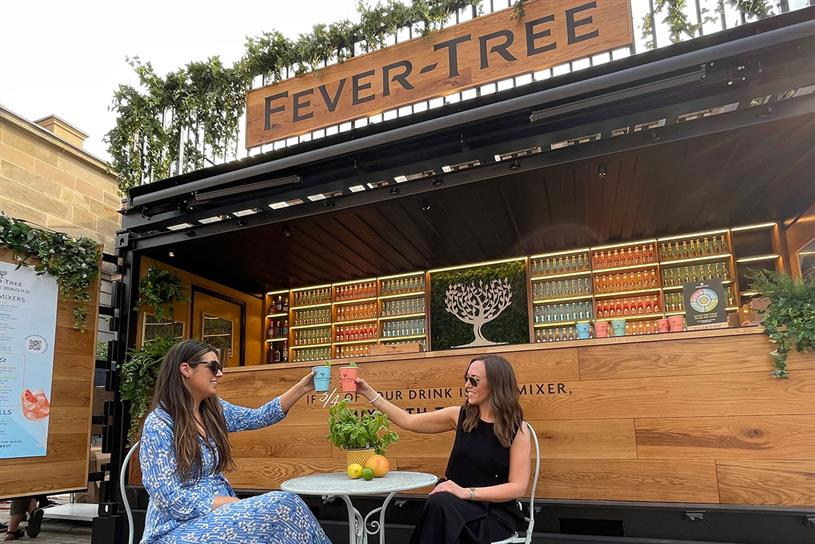Covent Garden: Fever-Tree will be hosting Wimbledon screenings