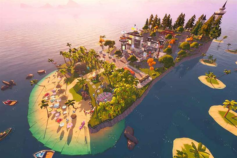 Havaianas: Fortnite players can explore the island