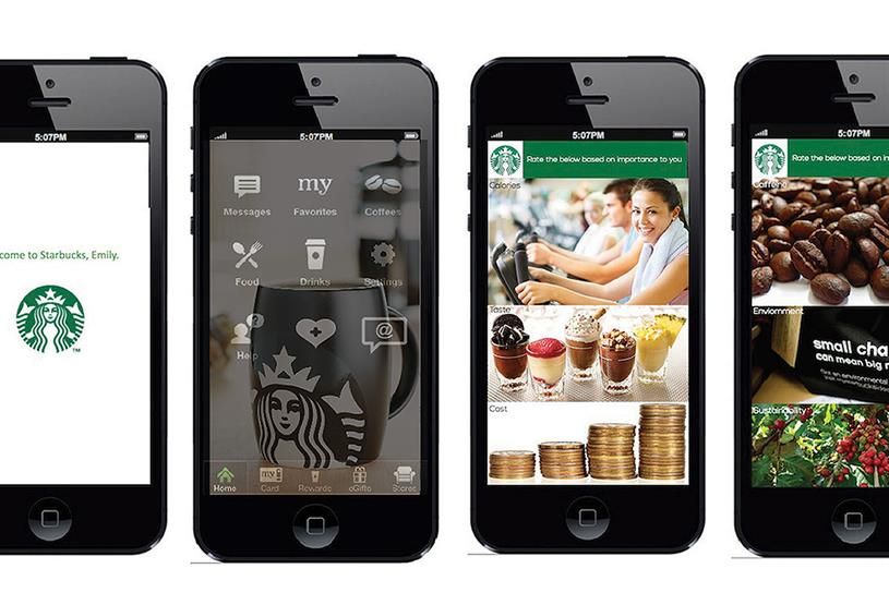 Starbucks: provides a new kind of 'space' for consumers
