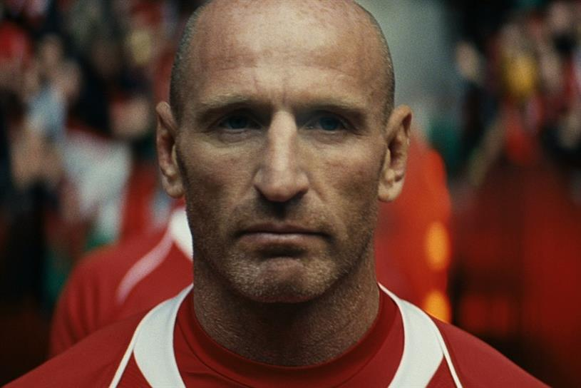 The Guinness ad featuring Gareth Thomas helped boost sales