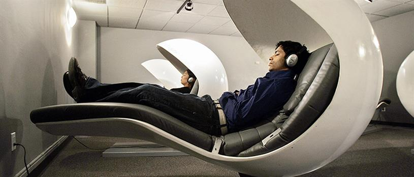 Nap York: offers sleep pods for rent by the half-hour (credit Getty Images)