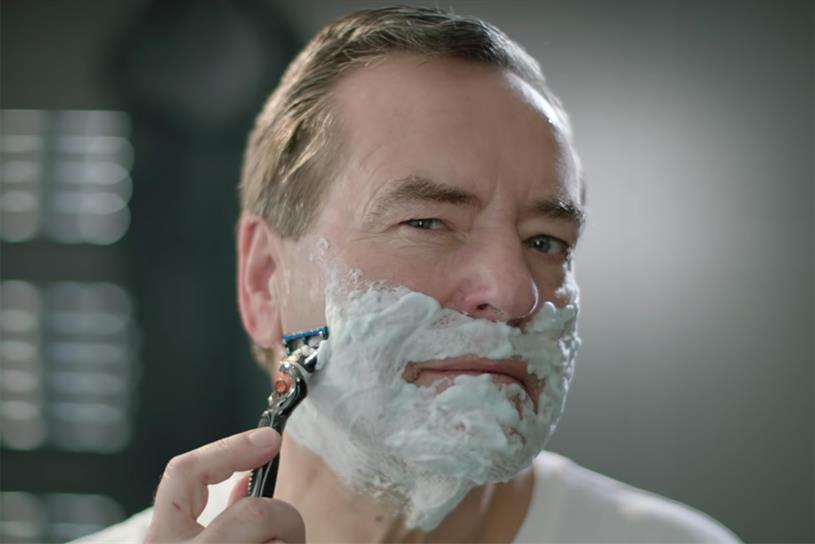 Gillette: grooming division showed decline