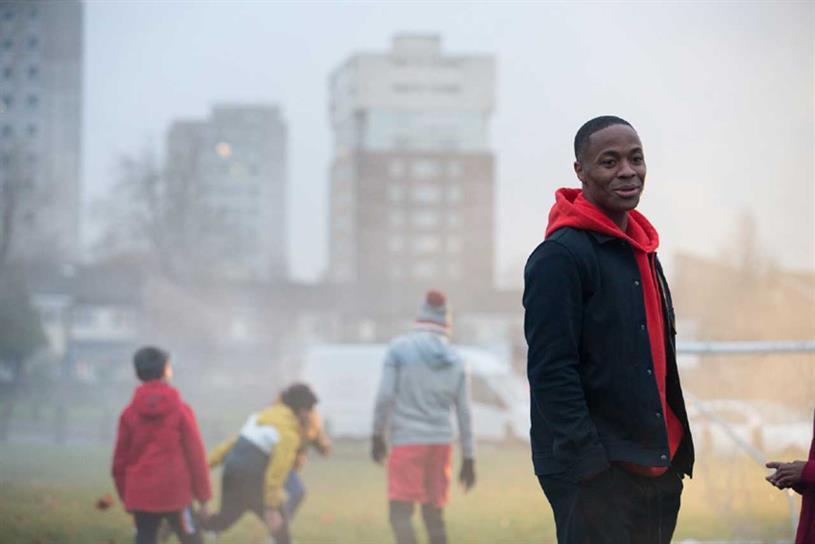Sterling: taken public stance against prejudice in football