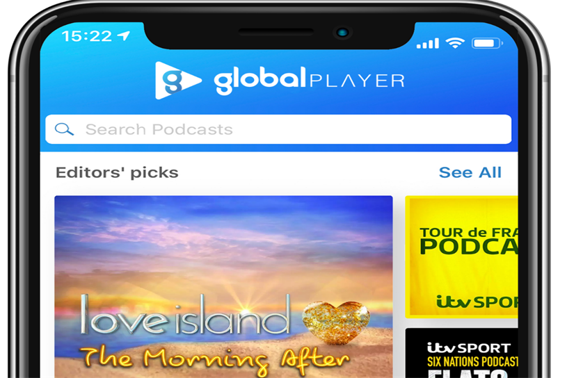 Global Player: ITV podcasts now available