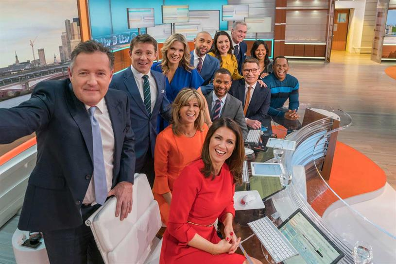 Good Morning Britain: one of ITV's daytime shows