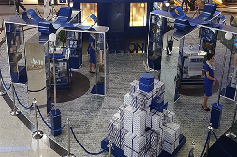 Grey Goose: enticing travellers at Dubai airport