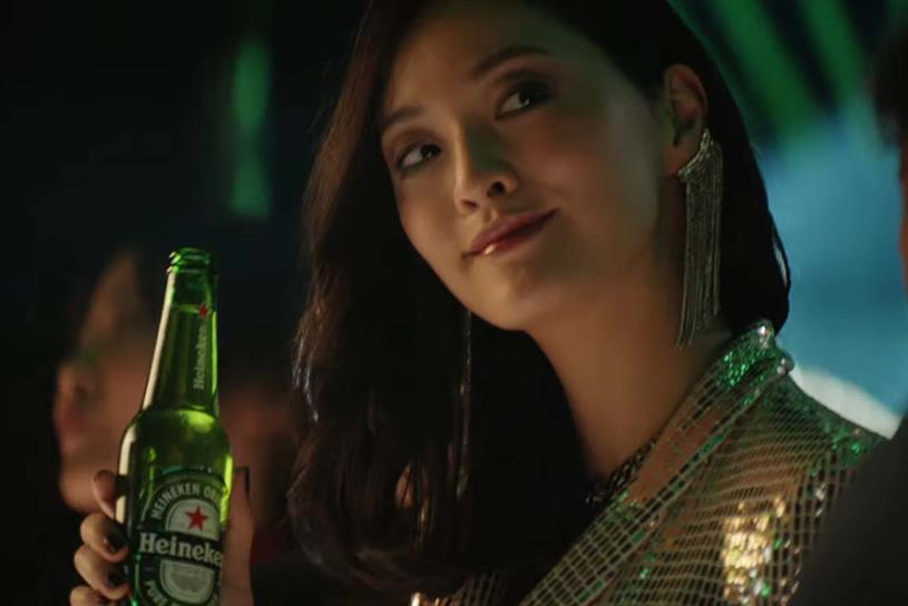Heineken: no more white wine spritzer for the lady, please