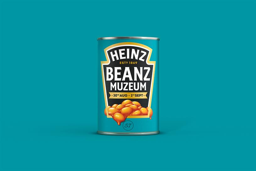Heinz: pop-up museum is celebrating baked beans