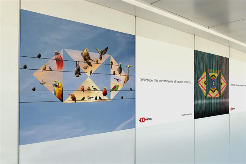 HSBC reinvents airport ads with biggest global campaign to