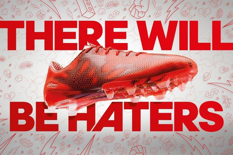 Adidas has had the biggest rise in negative sentiment following FIFA scandal