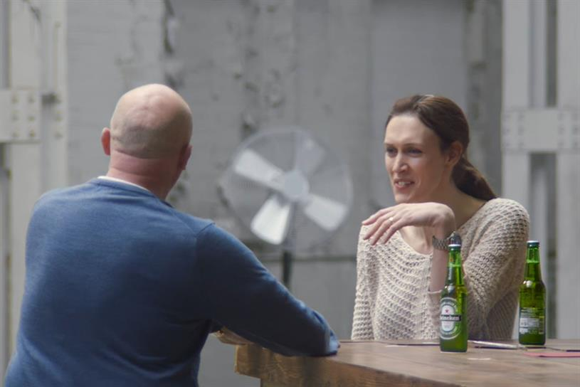 Heineken ad: encouraged people with opposing views to have a chat over a beer