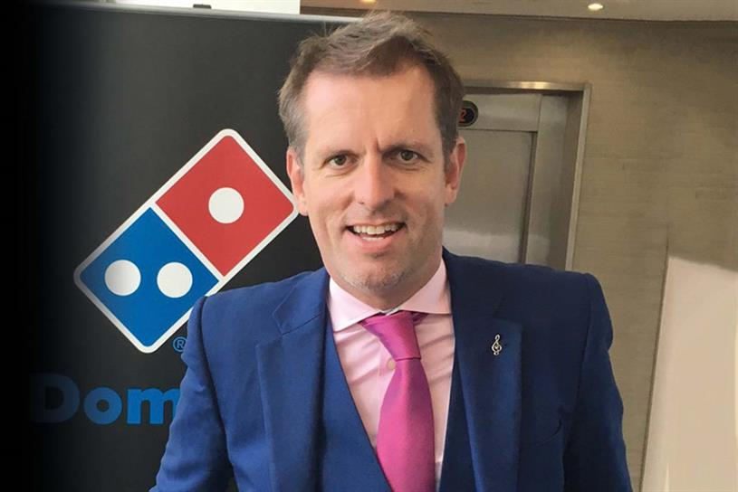 Holdway: leaves Domino's at the end of June