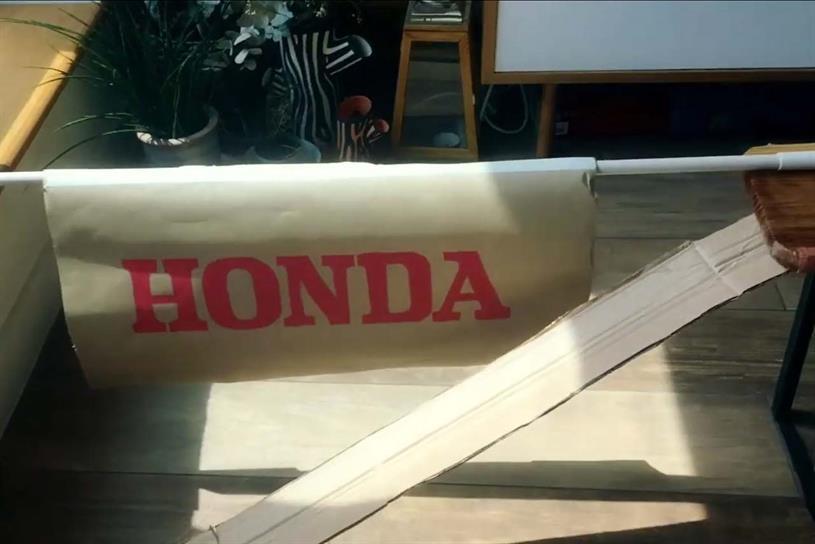 Honda: DIY remake outperformed original on three measures