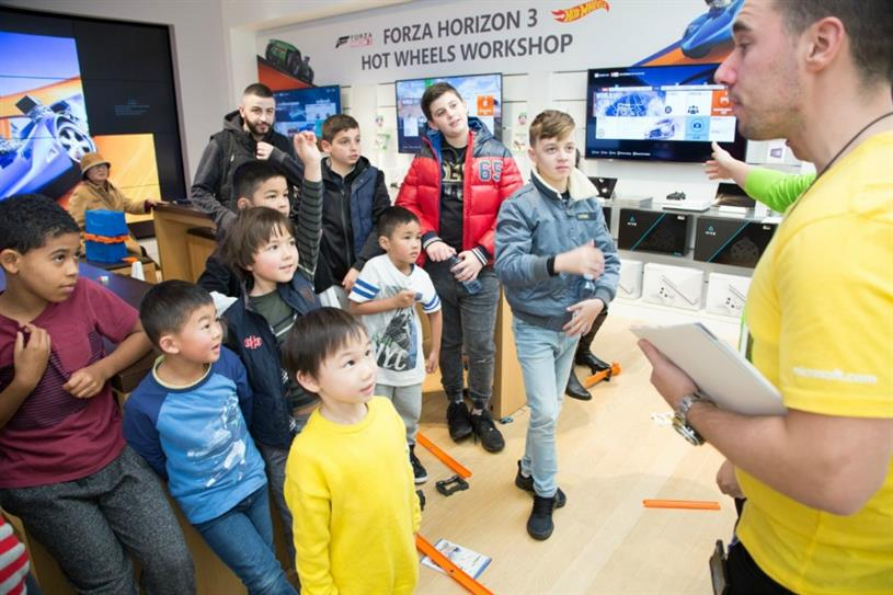 Xbox and Hot Wheels launch school holiday workshops