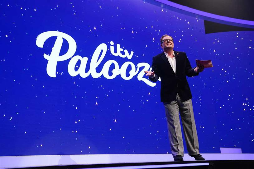 ITV Palooza: guests included comedian Alan Carr