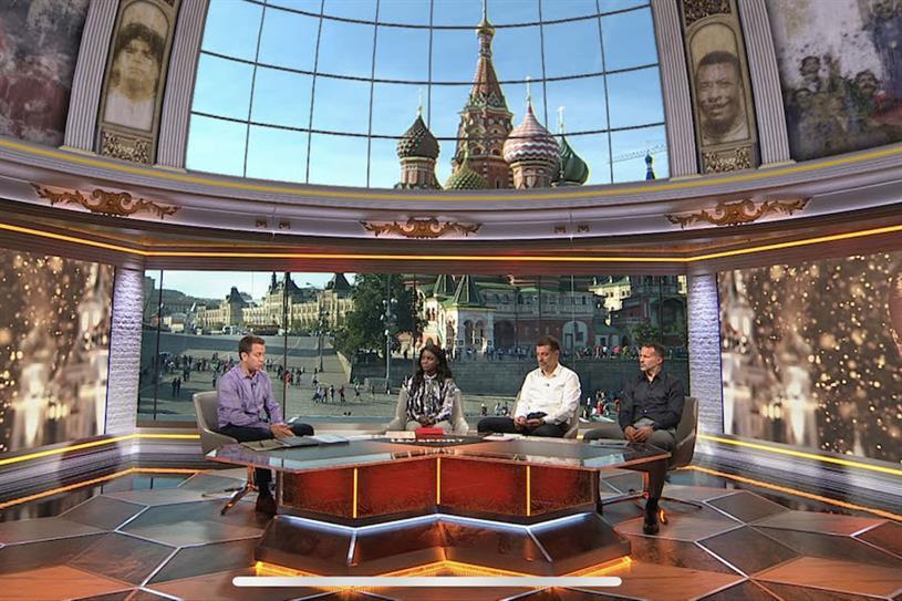 ITV's World Cup studio