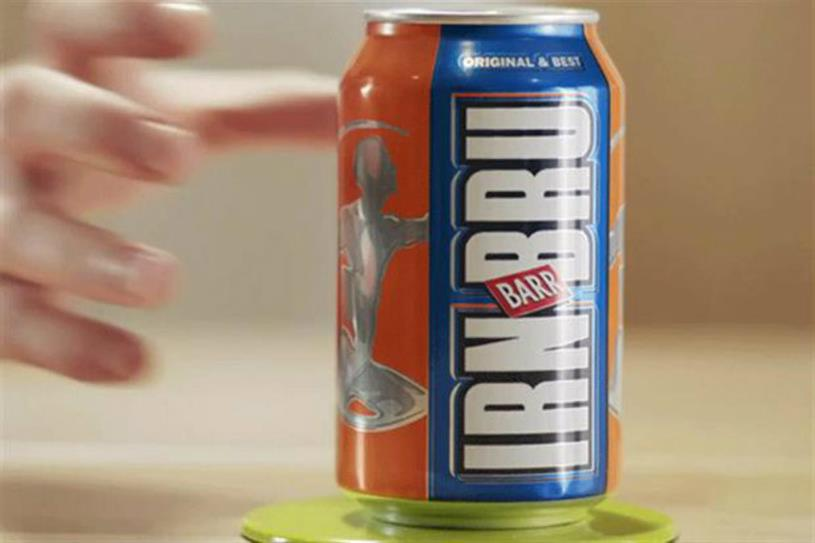 Irn-Bru: owner AG Barr said it will change recipes to minimise impact of Gov's sugar tax