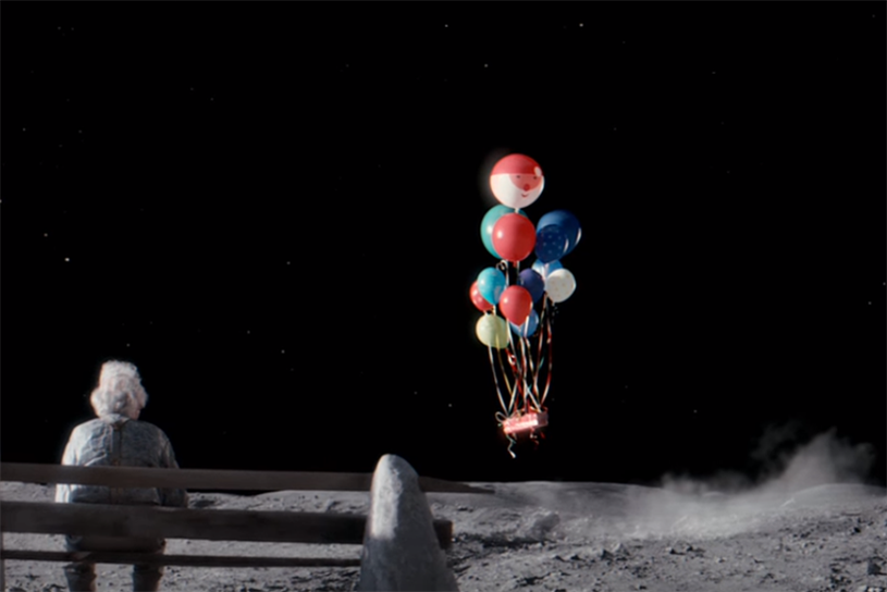 John Lewis: 'Man on the Moon' by Adam & Eve/DDB
