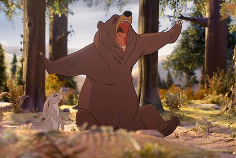 John Lewis: 2013 ad featured extremely sleepy bear
