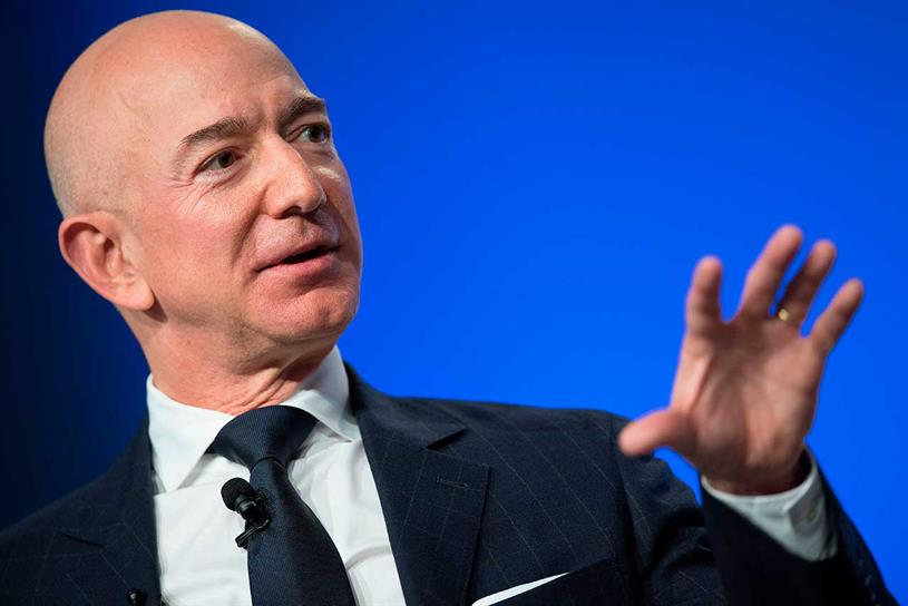 Bezos: founder of Amazon