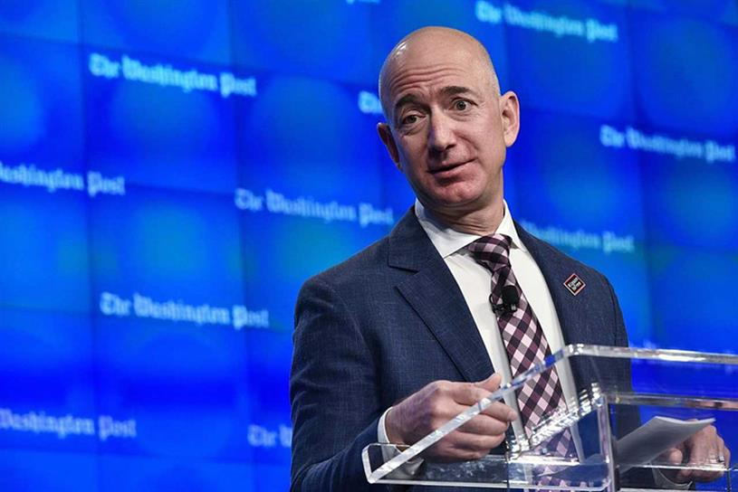 Bezos: bought Washington Post in 2013 (Getty Images)
