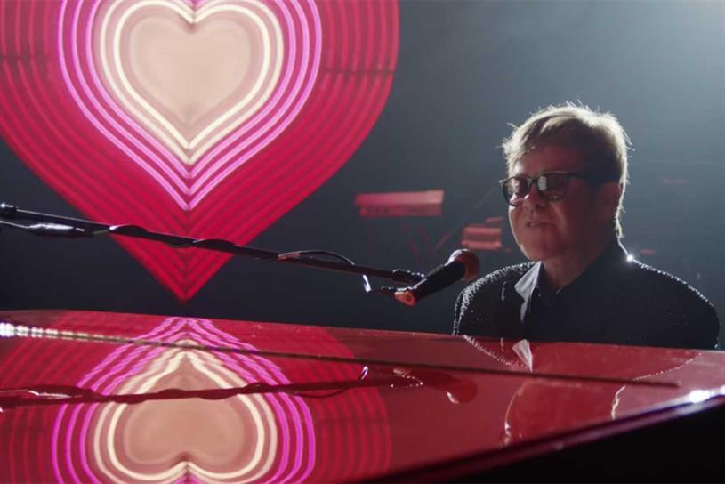 John Lewis: Elton John featured in last year's Christmas ad
