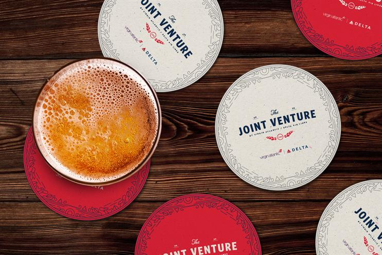 Delta: opened a pop-up pub with Virgin Atlantic last year