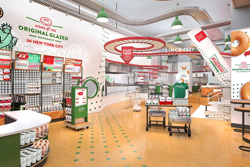 Krispy Kreme: visitors will be able to watch doughnuts being prepared