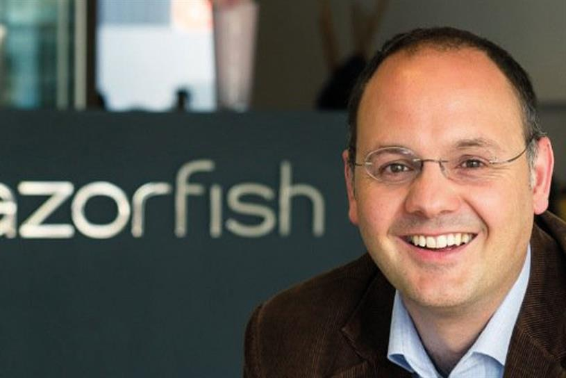 Michael Karg: will remain on the Razorfish board as an executive director for a handover period