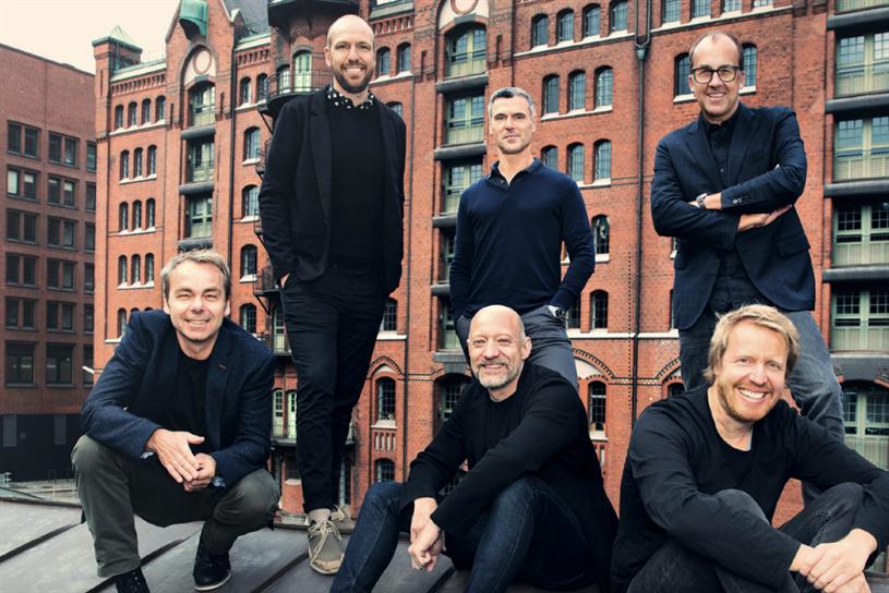 (Back L-R) Lennart Wittgen, Kai Müller, Andreas Winter-Buerke (Front L-R) Stefan Wübbe, Ralph Poser, Fabian Frese