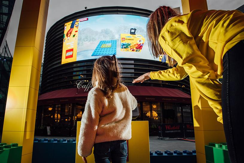 Lego: activation is part of 'Rebuild The World' campaign