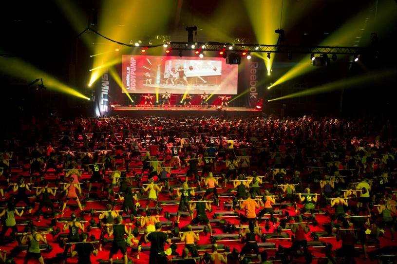 The event, of which Reebok is a sponsor, is expected to attract 4,000 people