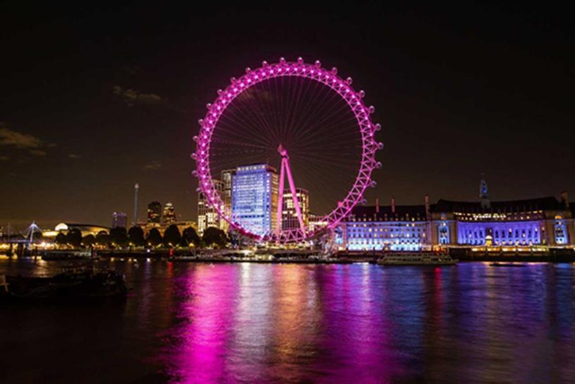 London Eye: deal with Lastminute will see attraction turn pink