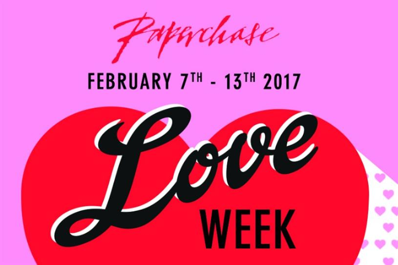 Paperchase is creating in-store Valentine's experiences